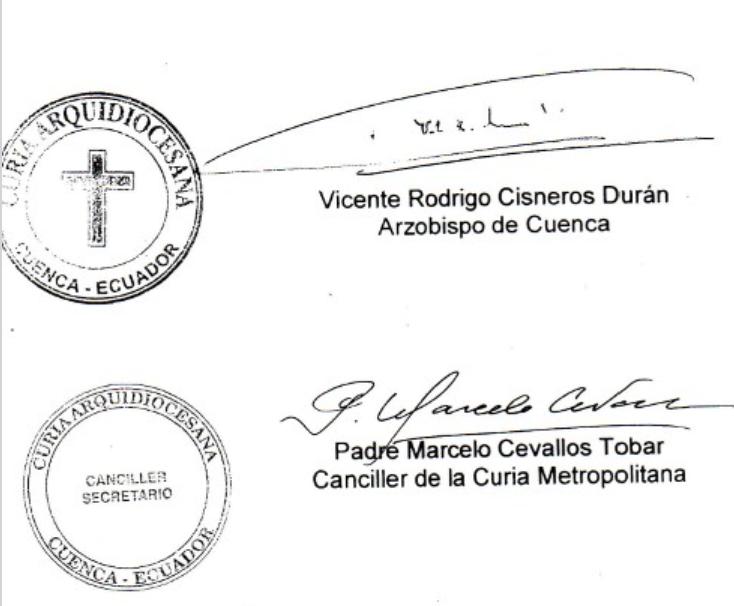 firmas Santuario